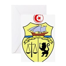 Tunisia Coat of Arms Greeting Card