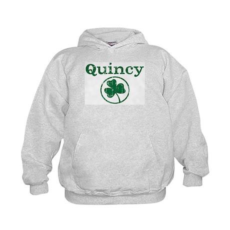 Quincy shamrock Kids Hoodie