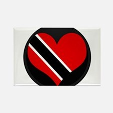 I love trinidad and tobago Rectangle Magnet