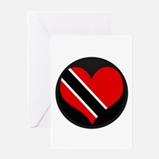 I love trinidad and tobago Greeting Card
