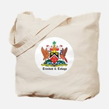 Trinidadian Coat of Arms Seal Tote Bag