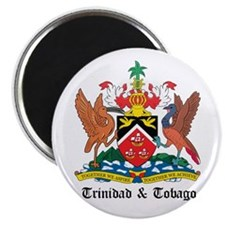 Trinidadian Coat of Arms Seal Magnet