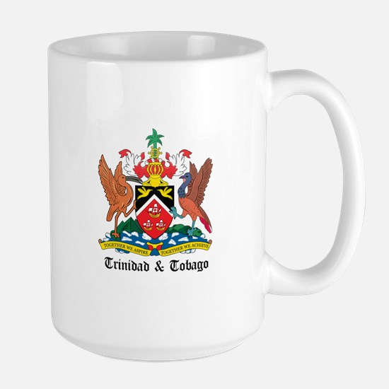Trinidadian Coat of Arms Seal Large Mug