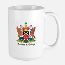 Trinidadian Coat of Arms Seal Mug