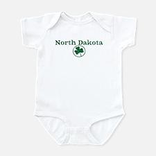North Dakota shamrock Infant Bodysuit
