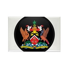 Coat of Arms of trinidad and Rectangle Magnet