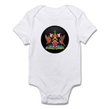 Coat of Arms of trinidad and Infant Bodysuit