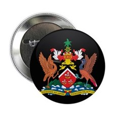 "Coat of Arms of trinidad and 2.25"" Button (10 pack"
