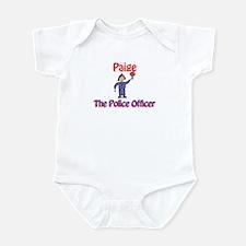 Paige - Police Officer Infant Bodysuit