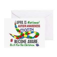 Autism Awareness Month 33.1 Greeting Card