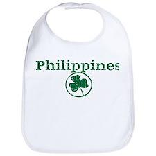 Philippines shamrock Bib