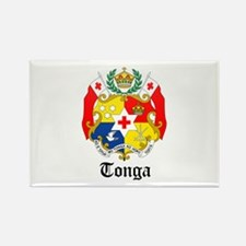 Tongan Coat of Arms Seal Rectangle Magnet
