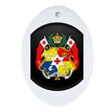 Coat of Arms of Tonga Oval Ornament