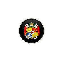 Coat of Arms of Tonga Mini Button