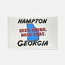 hampton georgia - been there, done that Rectangle