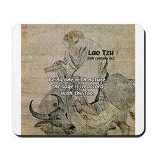Lao Tzu: Being One Mousepad