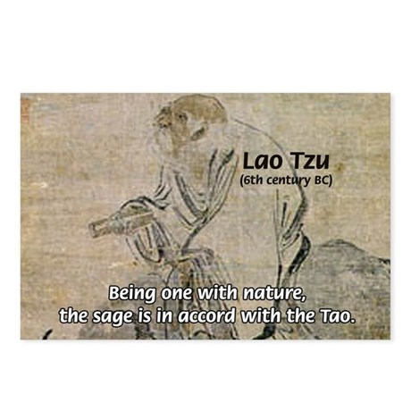 Lao Tzu: Being One Postcards (Package of 8)