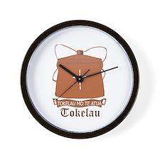 Tokelauan Coat of Arms Seal Wall Clock
