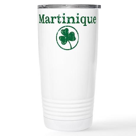 Martinique shamrock Stainless Steel Travel Mug