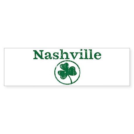 Nashville shamrock Bumper Sticker