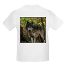 Wolf Spirit Kids T-Shirt