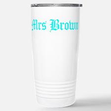 Mrs Brown Travel Mug