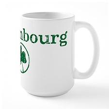 Luxembourg shamrock Mug
