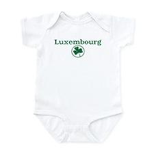 Luxembourg shamrock Infant Bodysuit