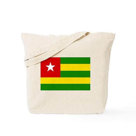 togo Flag Tote Bag