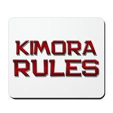 kimora rules Mousepad