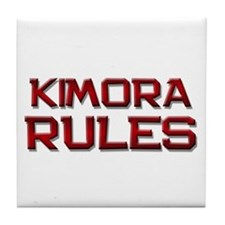kimora rules Tile Coaster