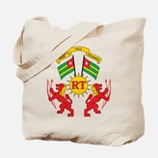 togo Coat of Arms Tote Bag