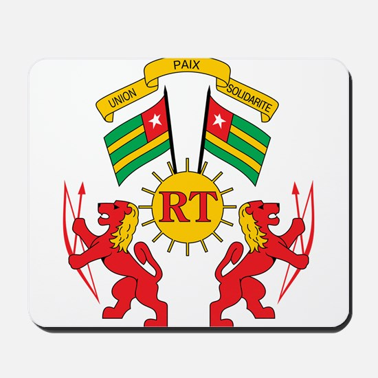togo Coat of Arms Mousepad