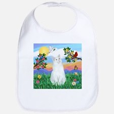 Bright Life / (White) Cat Bib