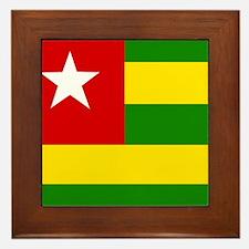 Togolese Framed Tile