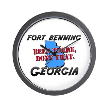 fort benning georgia - been there, done that Wall
