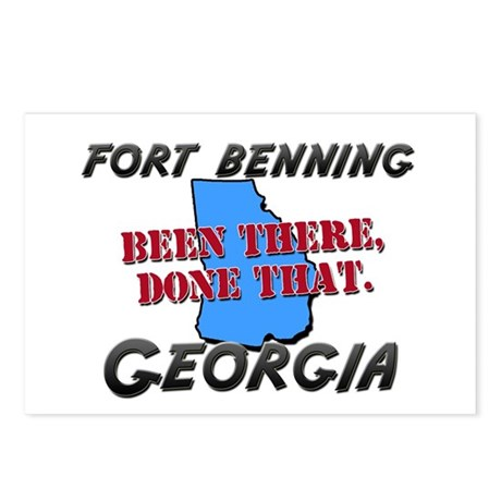 fort benning georgia - been there, done that Postc
