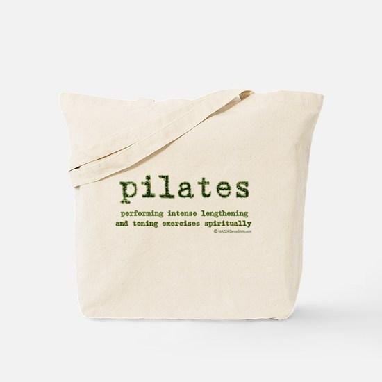 Pilates Spirit Tote Bag