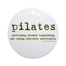 Pilates Spirit Ornament (Round)