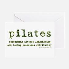 Pilates Spirit Greeting Card