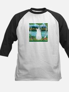 Birches / (White) Cat Kids Baseball Jersey