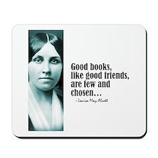 """Alcott """"Good Books"""" Mousepad"""