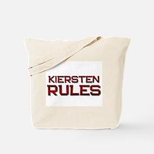 kiersten rules Tote Bag