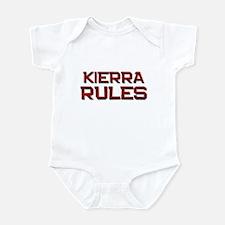 kierra rules Infant Bodysuit