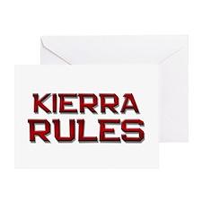kierra rules Greeting Card