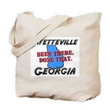 fayetteville georgia - been there, done that Tote