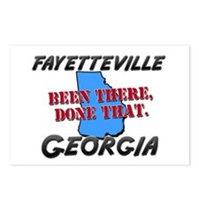 fayetteville georgia - been there, done that Postc
