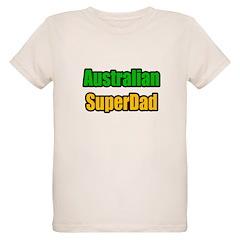 """Australian Super Dad"" Organic Kids T-Shirt"