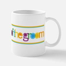 Funky Type Groom's Sister Mug