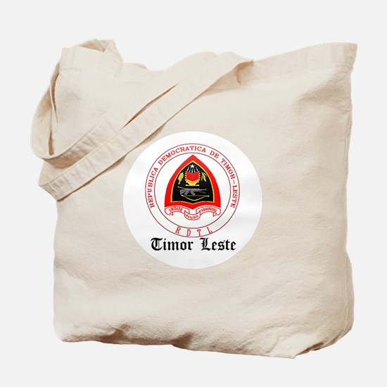 Timorese Coat of Arms Seal Tote Bag